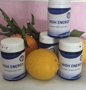 Ginseng, vitamine c, noix de kola, complexe High Energy